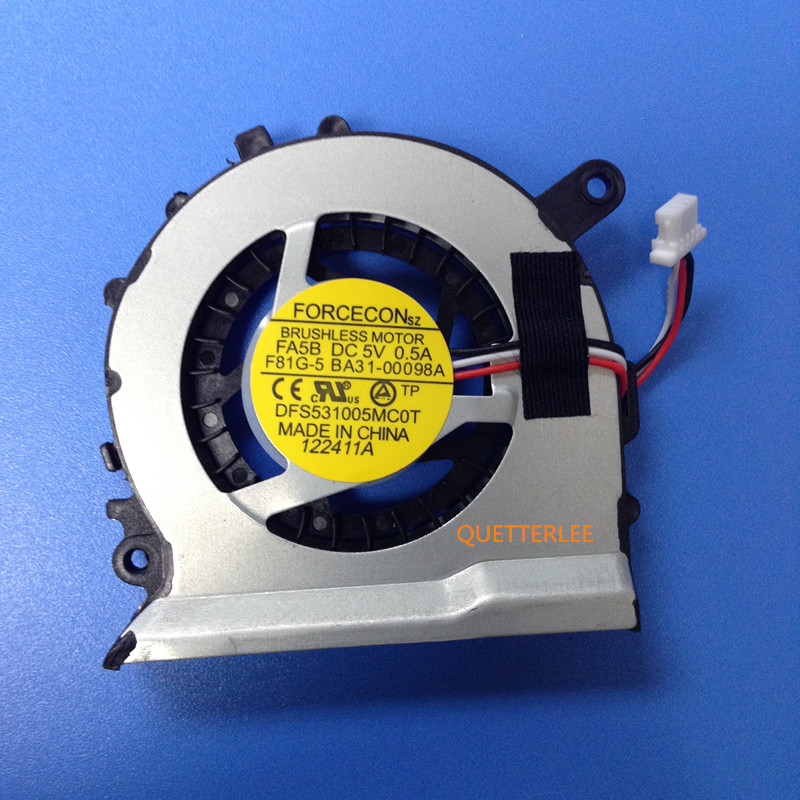 New Fan for SAMSUNG Ultrabook NP530 NP530U NP530U4B NP530U4C A01US cpu cooling fan DFS501105FQ0T FB9W Free Shipping industrial display lcd screenb101uan02 1 10 1 inch high definition screen ips wide viewing angle bright screen 1920x1200 fhd