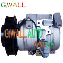 10S15C AC Compressor For Car Hino Truck Excavator 24V 6 Grooves 447220-5543 247300-2550