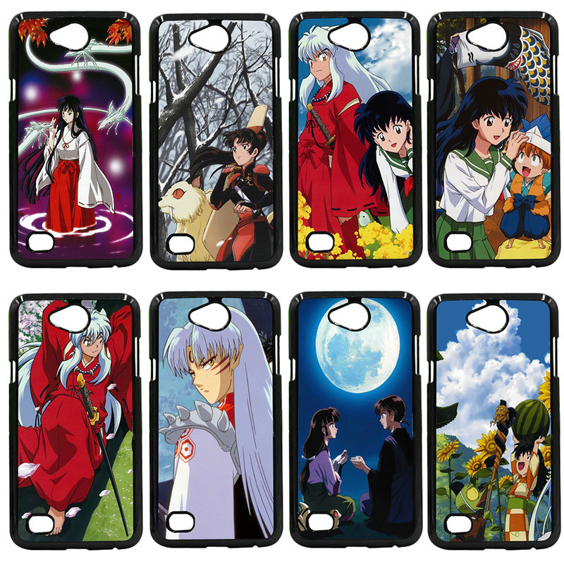 Cute Anime Inuyasha Mobile Phone Case Hard Plastic Cover For LG L Prime G2 G4 G5 G6 G7 K4 K8 K10 V20 V30 Nexus 5 6 5X Pixel