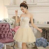 Bridesmaid Dresses Knee Length Short Formal Party Abendkleider Chiffon Blue Purple Bridesmaid Gown Robe De Soiree
