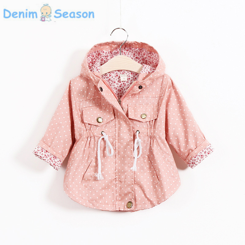 DenimSeason 2018 Summer Girl Cardigan Onesie Baby Girl Cardigan Girls Trench Cute Poncho Coat casaco infantil cardigan Baby
