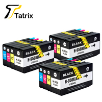 12 PCS For HP 950 XL 951 XL Compatible Ink Cartridge For HP Officejet Pro 8100