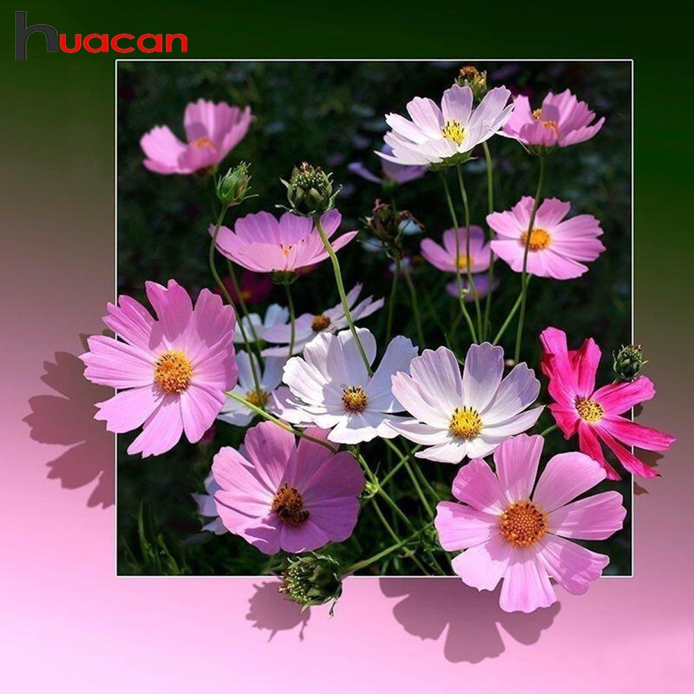 Huacan Diamond Embroidery Sale Flower Pictures Of Rhinestones Full Square Drill Diamond Mosaic Diamond Painting Flowers BeadworkHuacan Diamond Embroidery Sale Flower Pictures Of Rhinestones Full Square Drill Diamond Mosaic Diamond Painting Flowers Beadwork