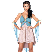 New Greece Egyptian Princess Cleopatra Queen Halloween Adult Cosplay Women Sexy Party Carnival Dresses