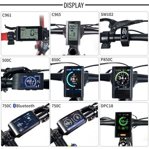 Image 5 - Bafang Kit de conversión de bicicleta eléctrica BBS02B, Motor medio de 48V y 750W, 52V, 14Ah, 48v, 12Ah, 17,5ah, Samsung, 68 73mm