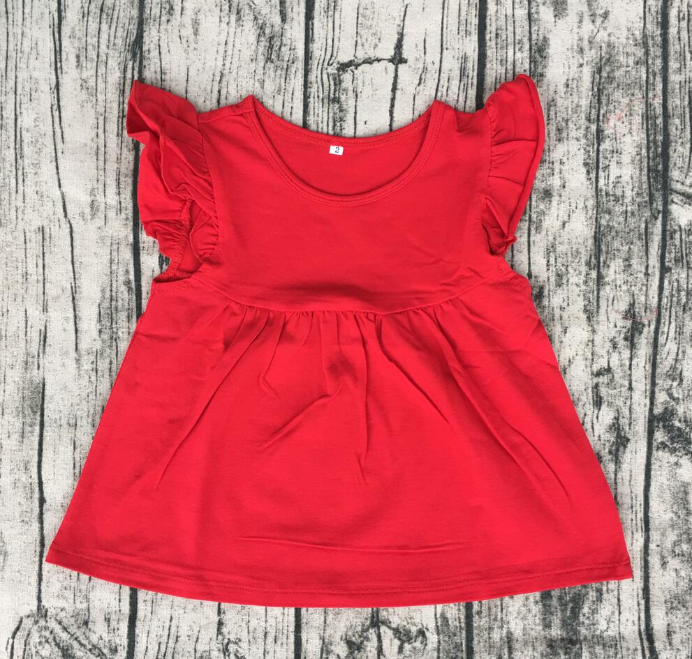 candy color latest dress designs pictures Girls red summer wear new ...