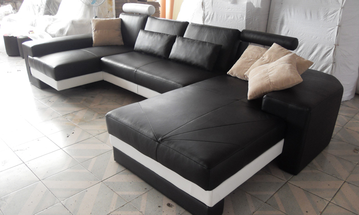 Free Shipping Nice Sofas New Modern Design Sofa U Shaped Corner