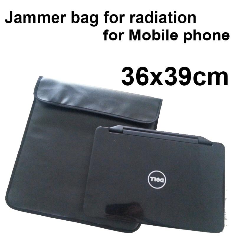 "36*39 Anti-Scan Card Bag For Phone For 14"" Notebook Function Of Radiation Blocker Bag& Anti Tracking Anti-spy Secret Jammer Bag"