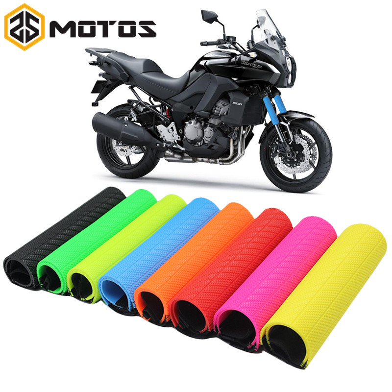 Motorcycle Off-road Front Rubber Fork Dirt Dust Cover Gaiter Gator Boot Cap Shock Absorber Dust Cover for KTM HONDA KAWASAKI motorcycle front rider seat leather cover for ktm 125 200 390 duke