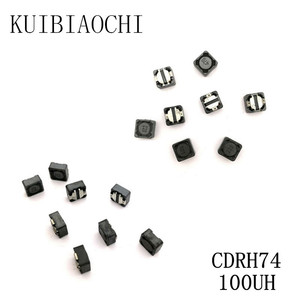 10pcs/LOT SMD Power Inductor CDRH74 100UH 101 7*7*4mm shielded winding inductor(China)