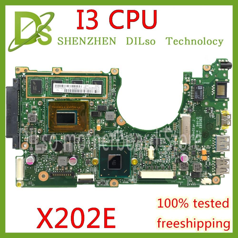 KEFU x202e  For ASUS S200E X202E X201E X202EP Vivobook motherboard REV2.0 I3-3217U/I3-2365U cpu 2G/4G RAM onboard 100% Test workKEFU x202e  For ASUS S200E X202E X201E X202EP Vivobook motherboard REV2.0 I3-3217U/I3-2365U cpu 2G/4G RAM onboard 100% Test work