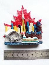 Toronto Souvenir Fridge Magnet