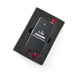 Image 2 - FPV 2.4G 2W 2000mW Mini Module amplificateur de Signal Radio pour DJI fantôme RC émetteur FPV étendre la gamme Drone accessoire