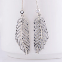 100% 925 Sterling Silver Clear CZ Light as a Feather Hoop Earring for Women Engagement Wedding Gift Fine Jewelry Making