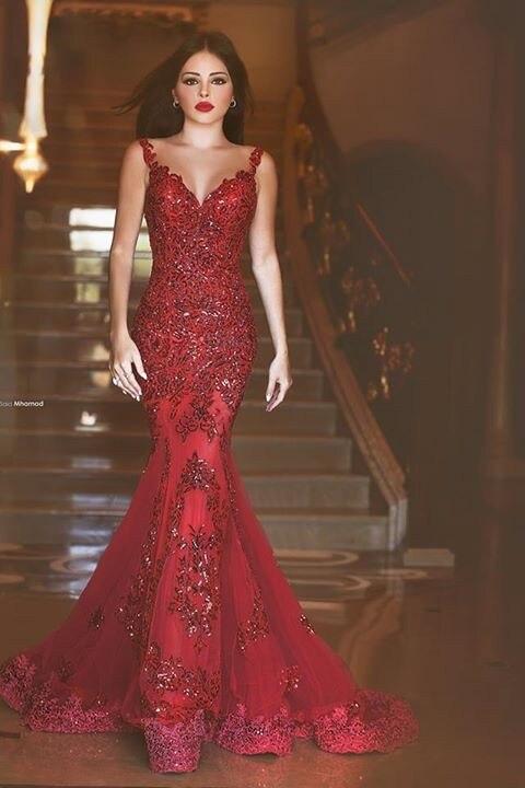 Popular Elegant Hot New Real Mmermaid Prom Dresses...