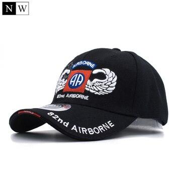 [northwood] 82nd ariborne tactical baseball cap men brand army cap gorra snapback hats trucker for men size 56-59cm