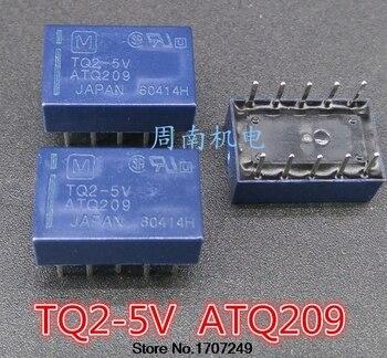 Free Shipping DHL 100% new original relay 100pcs/lot TQ2-5V TQ2-DC5V TQ2-5VDC ATQ209 10PIN 1A