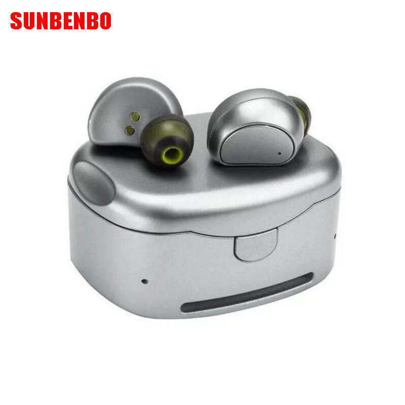 Newest TWS HV316T wireless Bluetooth headphones Binaural sport bluetooth mini headset Portable charging box stereo HQ Universal kz headset storage box suitable for original headphones as gift to the customer