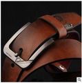 Men's leather pin buckle leather belt wholesale men's casual explosions best selling leather belts factory outlet