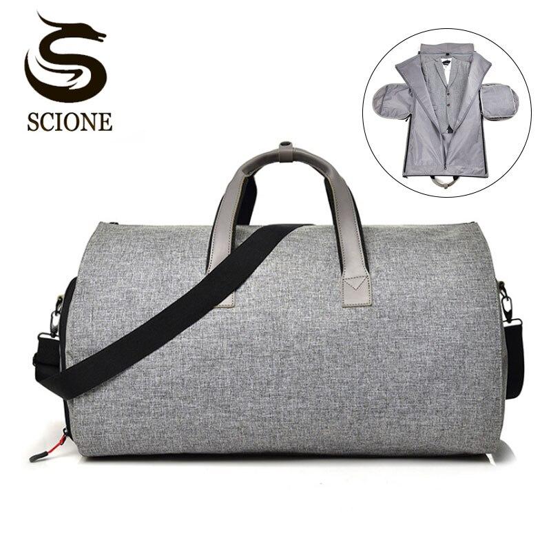 Multifunction Men Travel Bags Male Bag Portable Travel Duffel Bags For Man Large Capacity Shoulder Handbag Back Pack For Suit