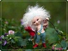 Bjd 1/12 da boneca com maquiagem boneca de fadas RealPuki Soso Bjd boneca olhos e cílios Inlcuded