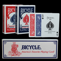 One Dozen 12pcs Original Bicycle Poker Bicycle Magic Regular Playing Cards Rider Back Standard Decks Magic Trick Red Blue Poker