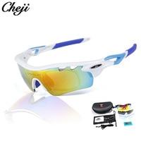 CHEJI Outdoor Sport Gepolariseerde Bril Fietsen Eyewear MTB Fiets Glas Paardrijden Vissen Wandelen Zonnebril Goggles 6 kleuren