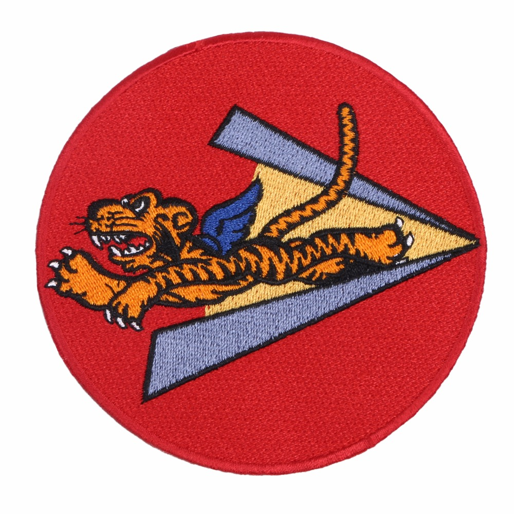 WWII WW2 US AIR FORCE THE FLYING TIGERS PATCH BADGE