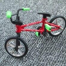 Мини-Пальчиковый велосипед Модель игрушки BMX велосипед смешной Рождественский подарок для детей Дети Мальчики с случайным цветом
