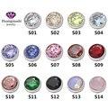 2016 mais recente moda jóias torcida zetting anel acessórios de cabeça 14 cores Zircon pode escolher ME003