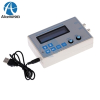 1HZ 65534HZ Digital DDS Function Signal Generator Module DC 9V 1602 LCD Display Sine + Triangle + Square Wave + USB Cable