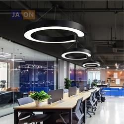 LED Nordic żelaza akrylowy czarny biała lampka LED LED Light. Pendant Lights. Lampa wisząca. Lampa wisząca do jadalni|Wiszące lampki|   -