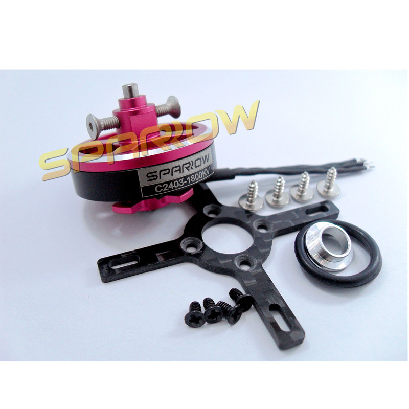 2403 RC brushless outrunner Sparrow hobby motor 1500KV 1800KV for F3P 3D airplane 2017 dxf sunnysky x2206 1500kv 1900kv outrunner brushless motor 2206 for rc quadcopter multicopter