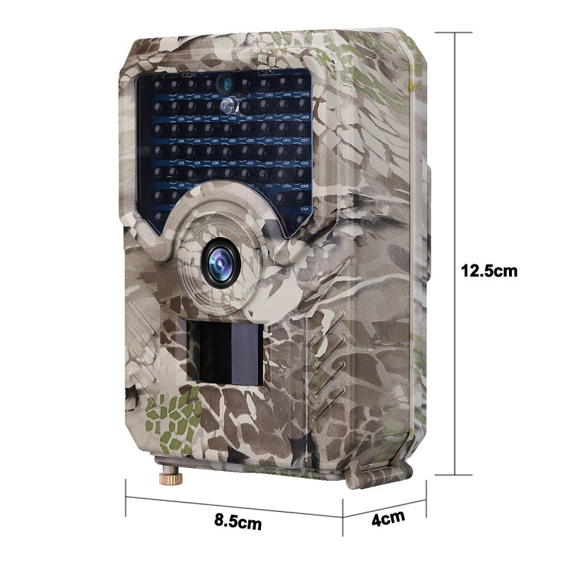 1080P HD IR LED <font><b>PR200</b></font> Hunting Camera Trail Camera Waterproof Wildlife Camera Night Vision Photo Traps Scouting Wildlife Motion image