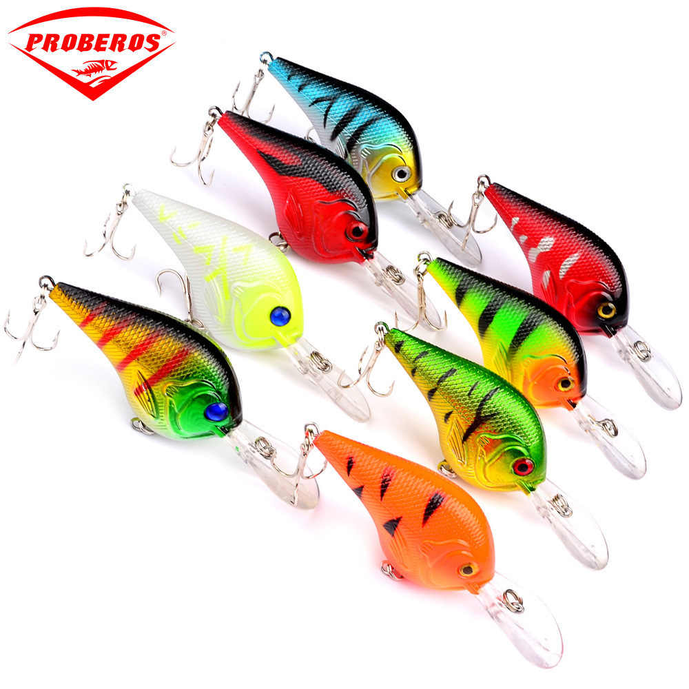 8Pcs/lot 95mm 11g Isca Artificial 3D Eyes Lifelike Minnow Lure With 2 Treble Hooks For Sea Fishing Tackle Wobblers Crankbait