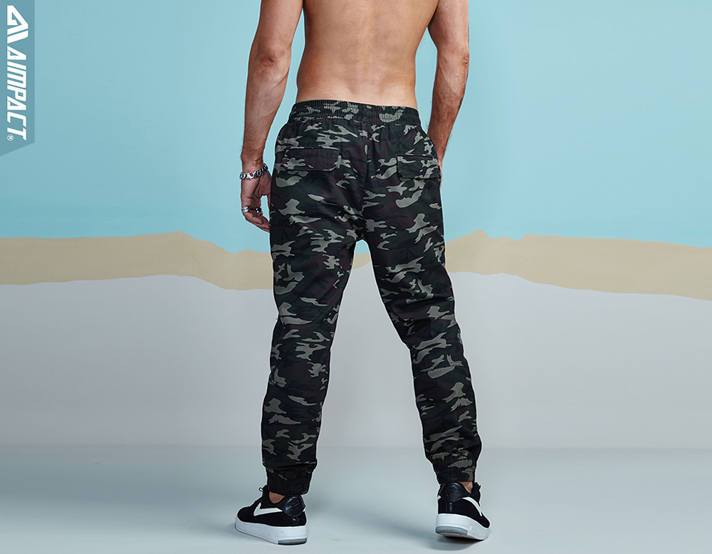 Aimpact 2018 New Men`s Casual Camo Pants Cotton Chino Jogger Pant Man Fitted Trace Twill Pants Male Camouflage Trousers AM5012 (18)