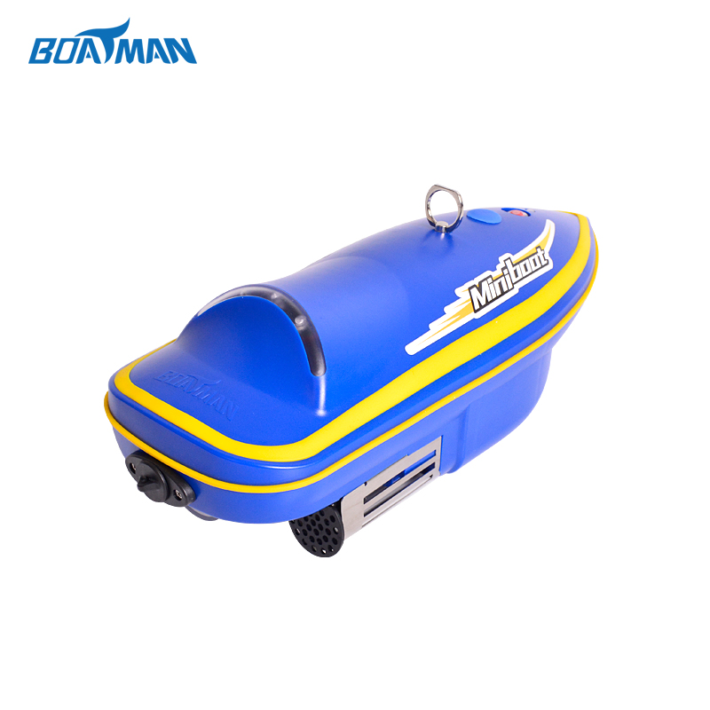Mini1A new version motor propeller fishing carp bait boat with rc for fishing hooks free shipping boatman bait boat rc carp fishing bait boat with carring case for fishing tools