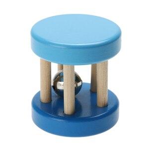 Image 3 - セーフ面白い木製玩具ベビーキッズ子供の知的発達教育木製おもちゃスパイラルガラガラ赤ちゃんの誕生日ギフト