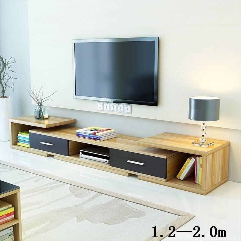 Flat Screen Lemari Modern Para Ecran Plat Wood European Wodden Monitor Stand Living Room Furniture Mueble Meuble Tv Cabinet