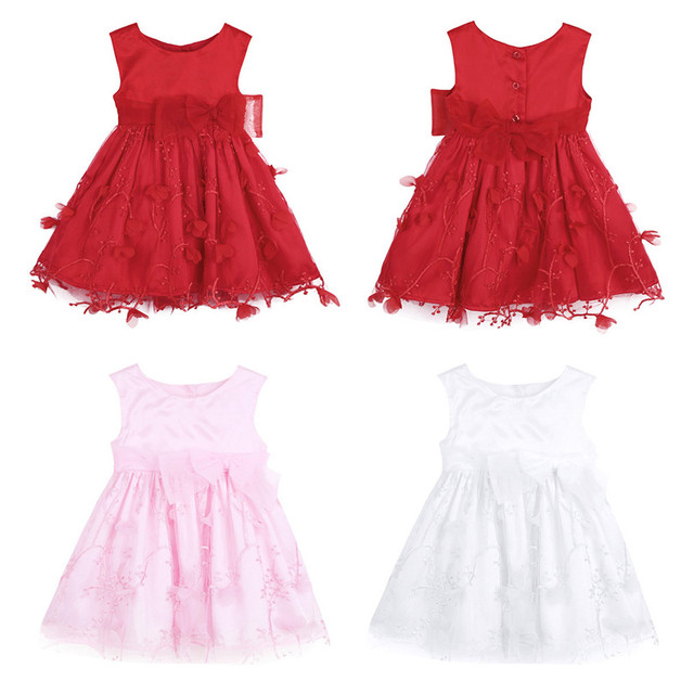 Flower Petals Baby Girl Dresses