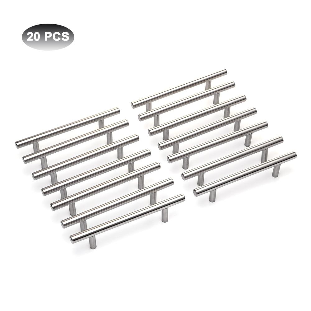 20Pcs Modern Furniture Handles Kitchen Cabinet T Pulls ...