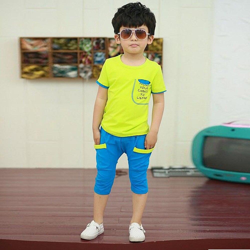 Baby Boys Summer Clothes Roupas Infantis Menino Cotton