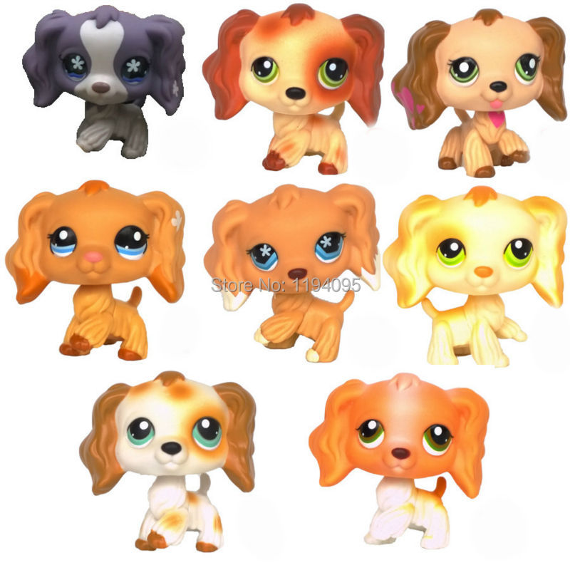 Aliexpress.com : Buy LPS SPANIEL rare dogs animal pet toys ...