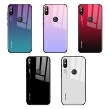 Для Xiaomi mi A1 a2 6 5x 6x mi x 2 note3 стеклянный чехол, силиконовый ударопрочный роскошный чехол из закаленного стекла для Xiaomi mi x 2s