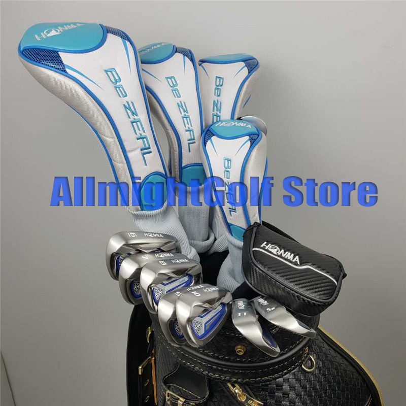 Womens golf clubs HONMA BEZEAL 525 Honma 525 Golf driver Fairway Hybrids Irons Putter Graphite Golf ClubWomens golf clubs HONMA BEZEAL 525 Honma 525 Golf driver Fairway Hybrids Irons Putter Graphite Golf Club