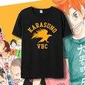 Новый Haikyuu кагеяма tobio футболка косплей Хината Syouyou Аниме футболка лето Мультфильм с коротким рукавом Майки топы