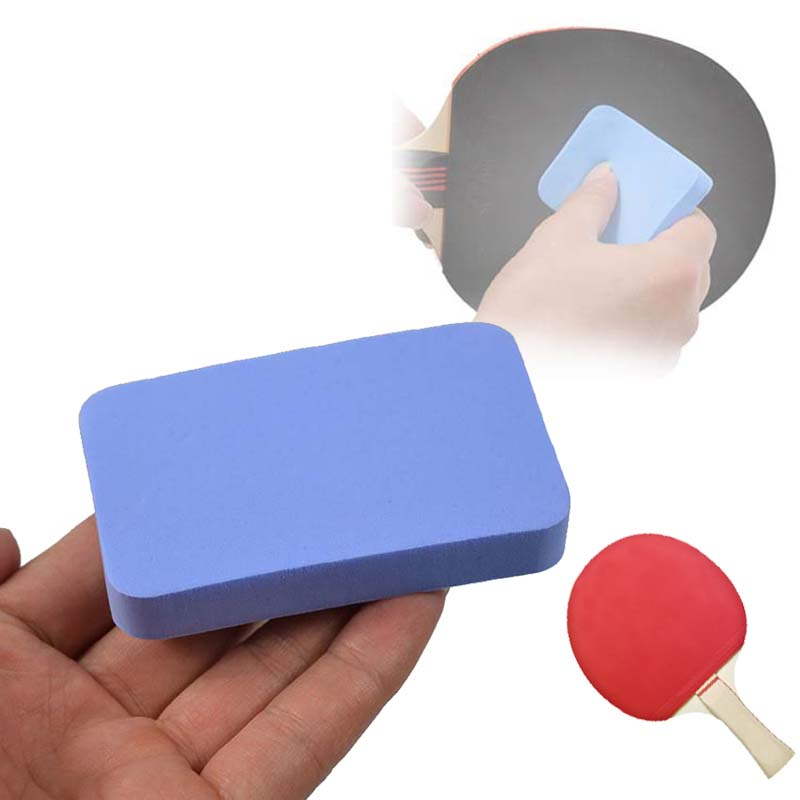1 Piece Professional Table Tennis Rubber Cleaner Table Tennis Rubber Cleaning Sponge Table Tennis Racket Care Accessories