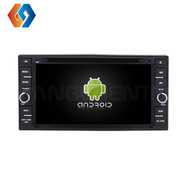 Universal Car DVD Player para Toyota Multimídia Embutido Android 9.0 Octa-core CPU IPS Touch Screen BT WiFi Telefone ligação de Som Do Carro