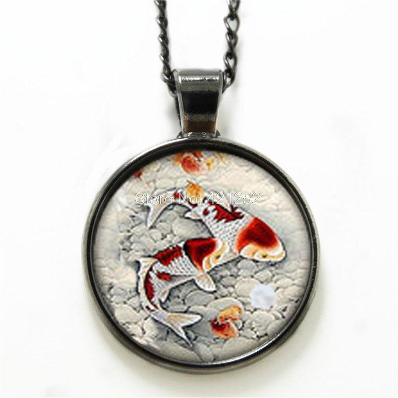 gold products pendant fish ogon kingice necklace ice koi king the platinum pendants white