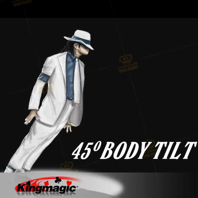 Body Tilt 45 Mentalism Magic Tricks The lean 1 Only Gimmicks Need Prepare Shoes By Yourself Stage Magic Props for Magician